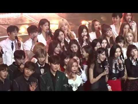 20171230 KBS 가요대축제 트와이스(TWICE) 엔딩무대