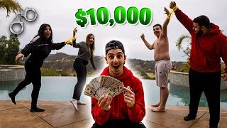 First Team to Escape the Handcuffs Wins $10,000 - Extreme Challenge