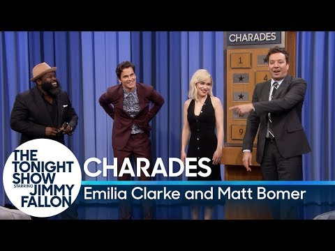 Charades with Emilia Clarke and Matt Bomer