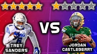 5 Star Recruit vs 1 Star Recruit!!!! *RUNNING BACK EDITION* | Sharpe Sports
