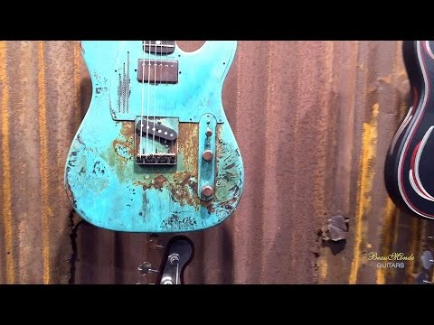 James Trussart Custom Guitars - NAMM 2016