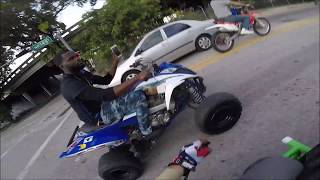 MLK Rideout 2018, Real Life Video Game! (GoPro Hero 6) BIKELIFE