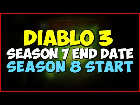 Season 10 Diablo 3 End Date
