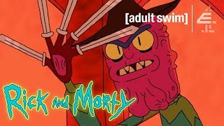 Rick and Morty Meet Scary Terry | Rick and Morty