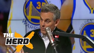 NBA Players Illuminati analyzed by Colin Cowherd and Chris Broussard | THE HERD