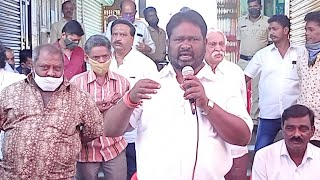 KGF VTV NEWS- Day 3 MG Market Strike. KC Murali  Ex CMC President speech at MG Market LIve
