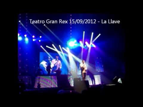 JORGE ROJAS TEATRO GRAN REX 15/09/2012 - LA LLAVE/ NO SABER DE TI