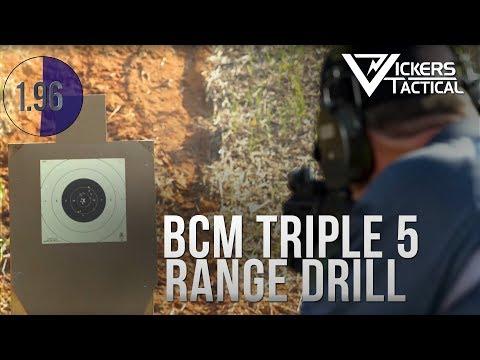 BCM Triple 5 Range Drill 4K