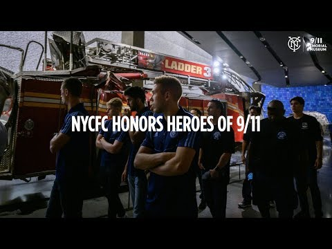 NYCFC Honors Heroes of 9/11