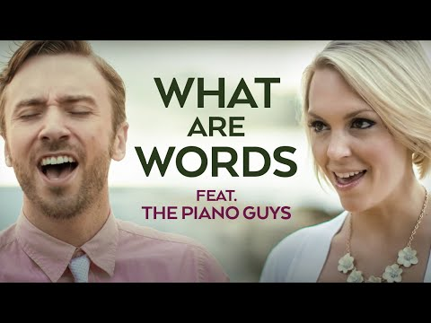 What Are The Words - Peter Hollens / Piano Guys