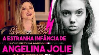 A ESTRANHA INFÂNCIA DE ANGELINA JOLIE - HOLLYWOODOC