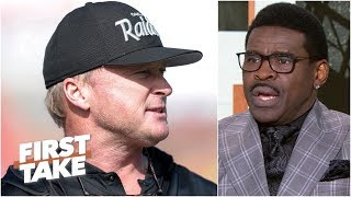 Jon Gruden wants more chaos than peace on Raiders – Michael Irvin | First Take