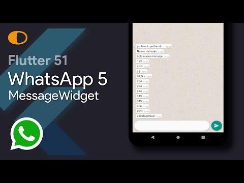 Flutter 51: WhatsApp 5