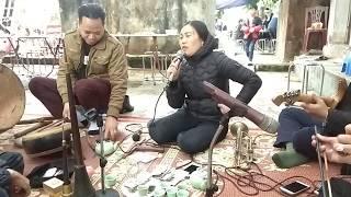 Đoàn nhạc hiếu hay,thị trấn Quang Minh 2018,cụ Nguyễn Thị gái, tổ 10 TT quang minh