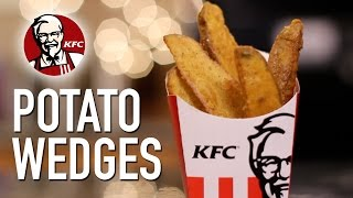 DIY KFC Potato Wedges