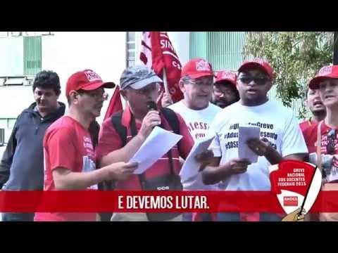 Xote da greve dos docentes federais 2015