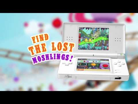 Moshling Theme Park 3DS promo
