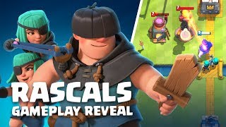 Clash Royale: Rascals Gameplay Reveal! (New Card!)