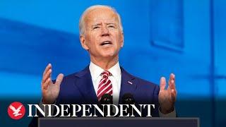 Watch again: Joe Biden delivers speech on coronavirus and the economy