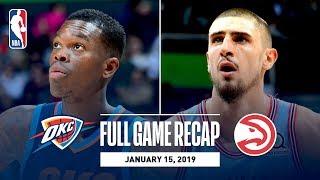 Full Game Recap: Thunder vs Hawks | Young & Len Record Double-Doubles