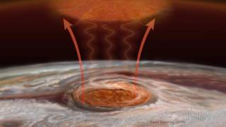 Jupiter's Red Spot Is Red Hot
