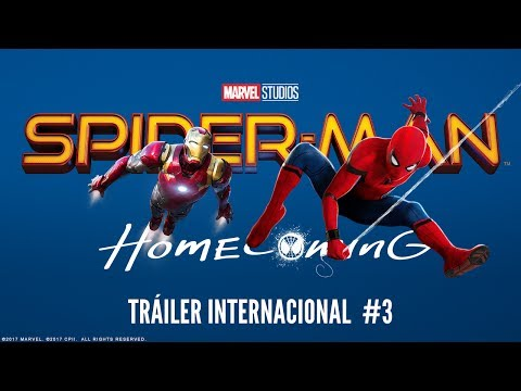 SPIDERMAN: HOMECOMING. Tráiler Internacional #3. En cines 28 de julio.