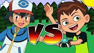 Ben 10 VS Pokemon