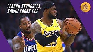 LeBron Struggles as Kawhi Cooks KCP