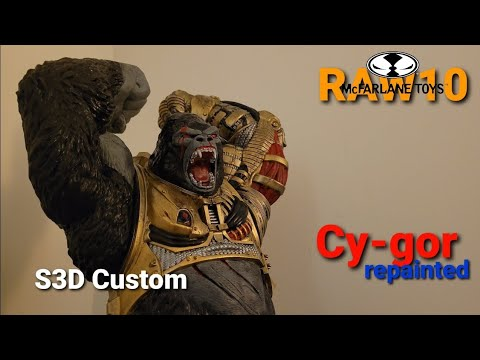 S3D Custom RAW 10 Cy gor REPAINTED (Adult Collector)
