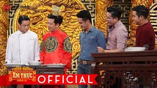 """Thiên đường ẩm thực 2   tập 13: đầu bếp Trần Thái Bảo và Ông Hoàng hợp tác """"dìm"""" đội Hùng Thuận."""