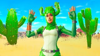 Pretending to be a Cactus In Fortnite...