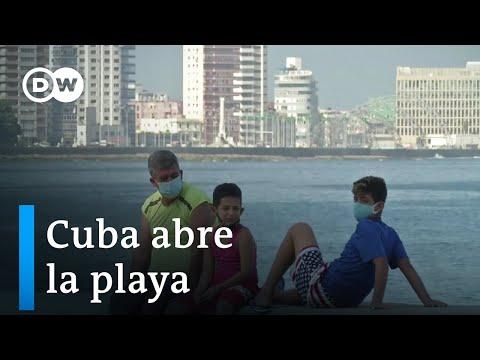 Apertura de balnearios en Cuba