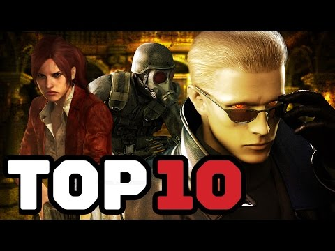 Top 10 Playable Resident Evil Characters