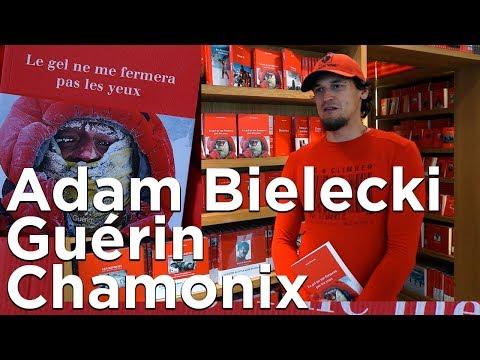 #1 Adam Bielecki Le gel ne me fermera pas les yeux Editions Paulsen Guérin Chamonix littérature
