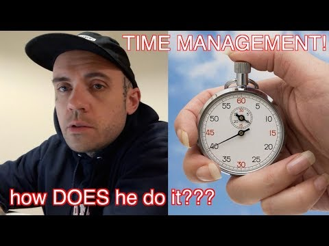 Fan Question: How Do You Find The Time???