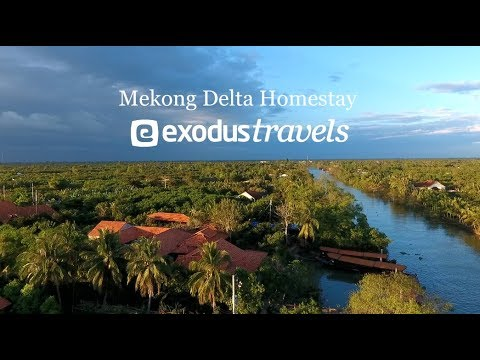 Mekong Delta Guest House with Exodus Travels