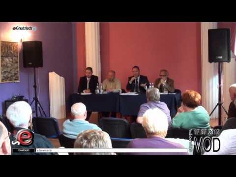 Spotkanie działkowców z posłem Szymańskim - pełna relacja ze spotkania