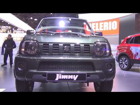 @SuzukiPress #Jimny 1.3 VVT (2017) Exterior and Interior in 3D