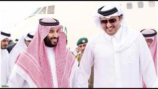 ولى ولى العهد محمد بن سلمان وأمير قطر يبحثان تطورات المنطقة   -
