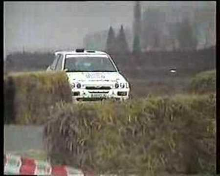 Jean-Marc Gaban in de fout - Rally van Hannuit 1996
