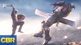 Why Captain America Waited Until Avengers: Endgame To Lift Thor's Hammer Mjolnir