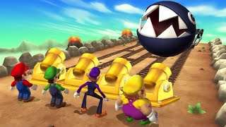 Mario Party 9 - All Minigames