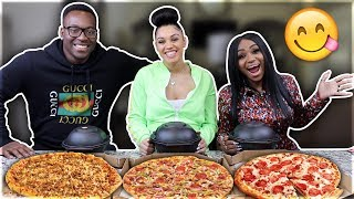 PIZZA & WINGS MUKBANG WITH BLOVESLIFE ❤️