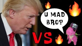 Beanie Boo Mini Darla Savage Donald Trump Diss Track - Is he too chicken to respond?!