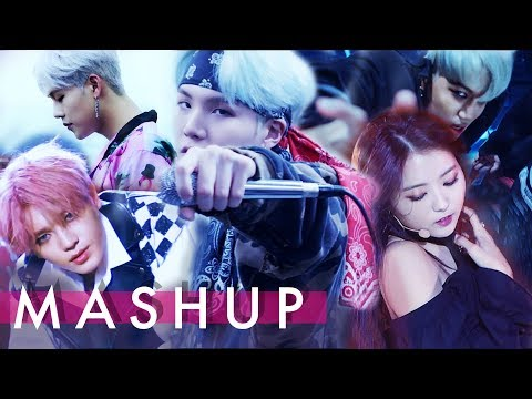 BTS/EXO/PRISTIN/MONSTA X/NCT – Mic Drop/I Need U/Monster/BlackWidow/Shine Forever/Cherry Bomb MASHUP