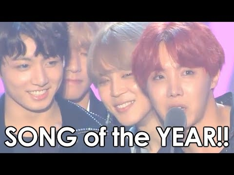 BTS Wins SONG OF THE YEAR at Melon Awards!!