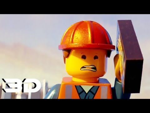 The LEGO Movie - Official Trailer In 3D (2014) Warner Bros