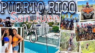 BREAKING the LAW in PUERTO RICO   Travel Vlog 2021   AirBNB Tour , Zipline , ATV Riding & MORE!