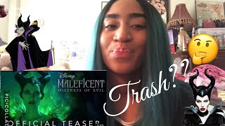 Official Teaser: Disney's Maleficent : Mistress of Evil- In Theaters October 18! REACTION