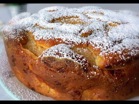 Ябълкова торта (кекс). Лесно, бързо, вкусно. Италианска кухня.